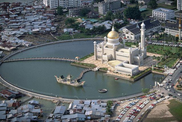 dialogue architectural à Brunei