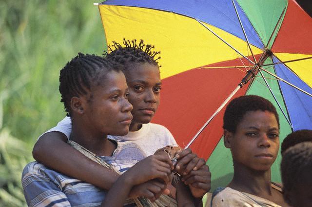 Jóvenes de Camerún