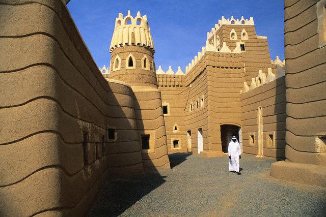 Arquitectura de adobe en Arabia Saudí