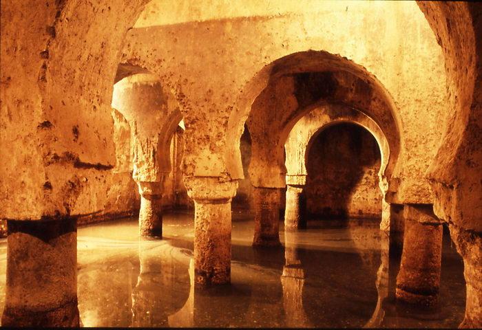 Cisterna hispano musulmana en Cáceres