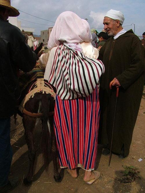 Campesinos del Norte de Marruecos