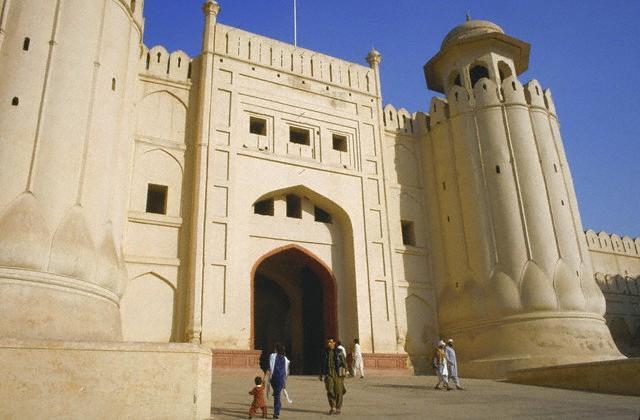 Monument islamique au Pakistan
