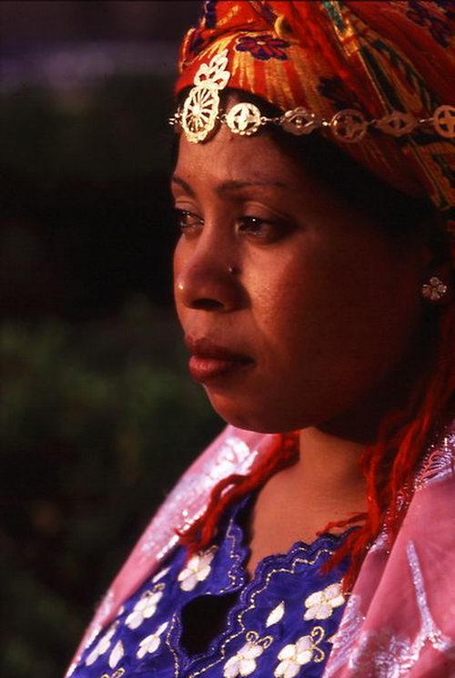Mujer del Sur de Marruecos