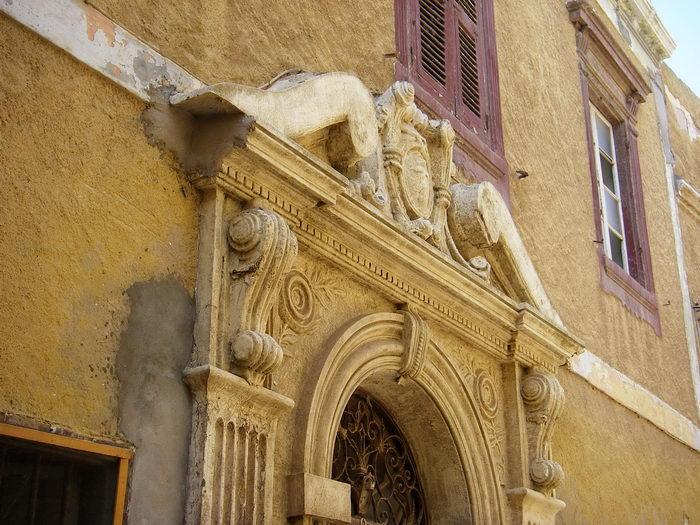 Detalle de un palacio renacentista