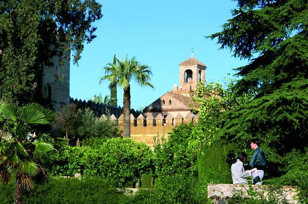 Jardín andaluz, Rabat