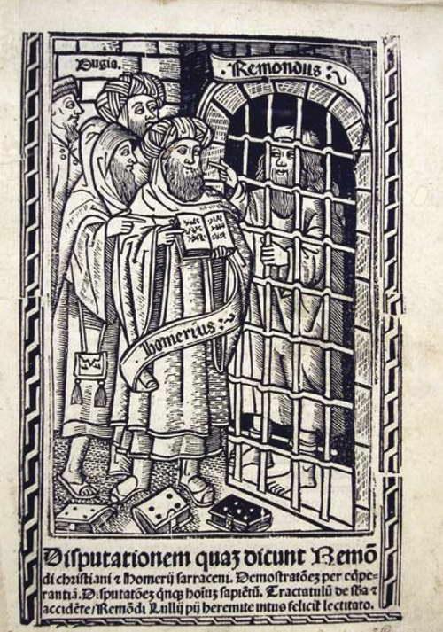 Ramon Llull en la prisión de Bugía