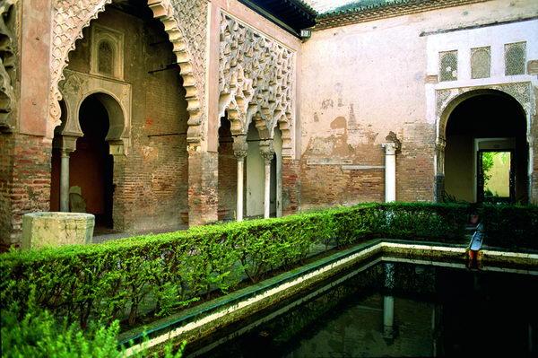 Patio del Yeso, Alcázar de Sevilla