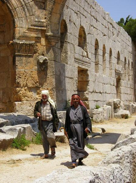 Beduinos en San Simeón