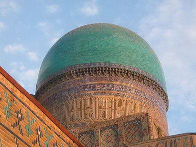 Mezquita de Bibi Jonim. Samarcanda