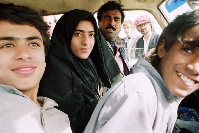 Jóvenes kuwaitíes