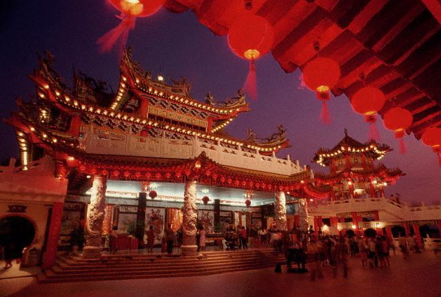 Templo budista en Malasia