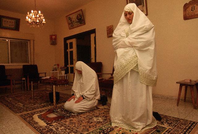 Palestinas orando