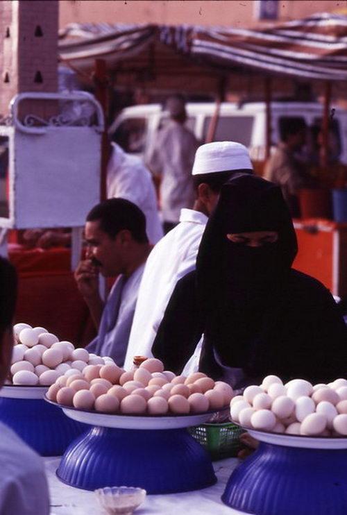 Mujer en Marrakech