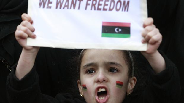 Muchacha libia