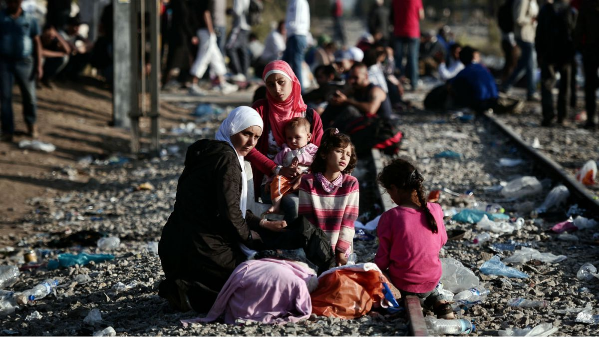 "the syrian refugee crisis in america Phase"" of the refugee crisis, it is important to note that 51% are children less than 18 years of age most syrian refugees are women and children."